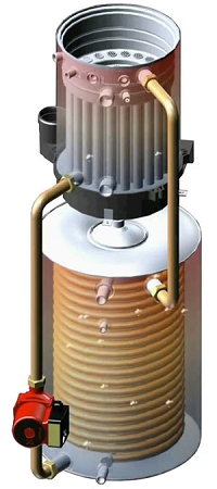 Htp Eftc 140f Combi Boiler Space And Domestic Water Heater