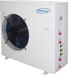 Chiltrix CX34 Inverter Variable Speed 2-Ton Cooling/3-Ton Heating Heat Pump Chiller