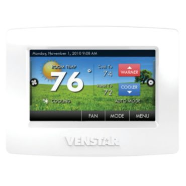 Venstar T7800 - New ColorTouch Thermostat