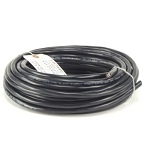 Honeywell 14/4MSR50-600V - 14/4 Stranded THHN 600V Cable Black Minisplit Wire Black 50' Roll