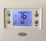 Carrier 33CSCNACHP-FC | Non Programmable Fan Coil Thermostat