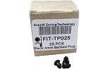 Arzel FIT-TP025 - Black Plug (25-Pk.)