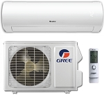 Gree SAP09HP230V1A Sapphire - 9000 BTU - 38 SEER - Wi-Fi - 230 volt - Low Ambient Extended Range Heat Pump