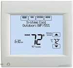 Honeywell TH8110R1008/U - Visionpro 8000 Thermostat with Redlink Technology Touch Screen Thermostat 1 heat/1 cool stages