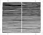 RFG2 Bard Return Air Filter Grille WHITE | 12x20 | 18-24 Models