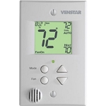 Venstar T2300FS - Commercial Flatstat 2 Heat/2 Cool 7-day Programmable Thermostat