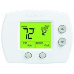 Honeywell TH5110D1006 FocusPRO® 5000 Digital Non-Programmable Thermostat